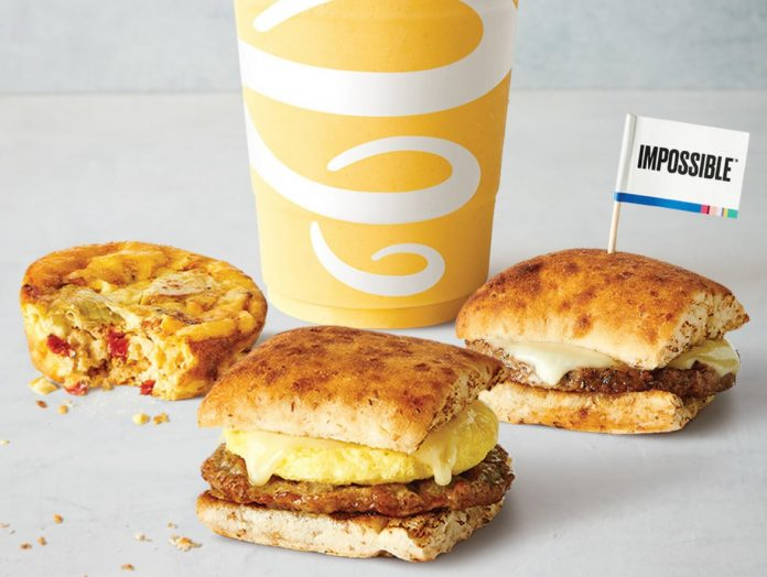 Jamba Reveals New Impossible Handwich And Spring Veggie Egg Bake As Part Of New Breakfast Menu