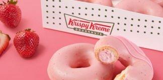 Krispy Kreme To Bring Back Strawberry Glazed Doughnuts On April 26, 2021