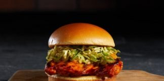 Nathan's Famous Adds New Nashville Hot Fried Chicken Sandwich And New Sticky, Spicy Grilled Chicken Sandwich