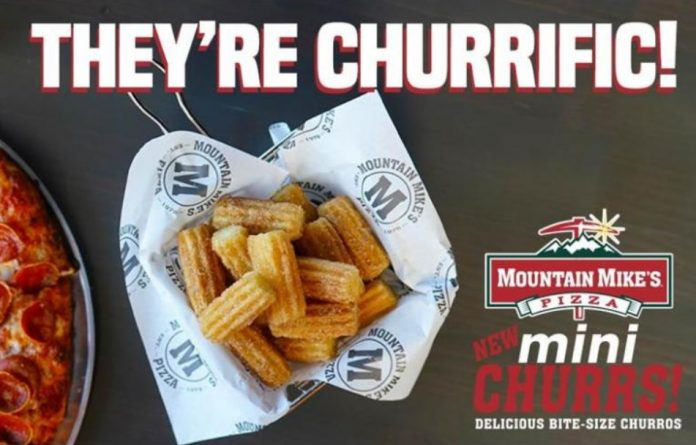New Bite-Size Mini Churrs Now Available At Mountain Mike's