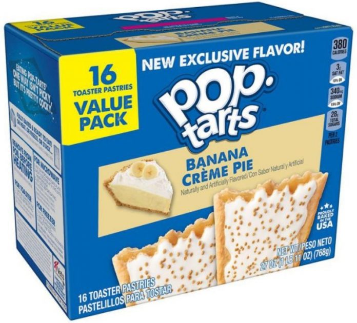 Pop-Tarts Reveals New Lemon Crème Pie, Peach Cobbler And Banana Crème Pie Flavors