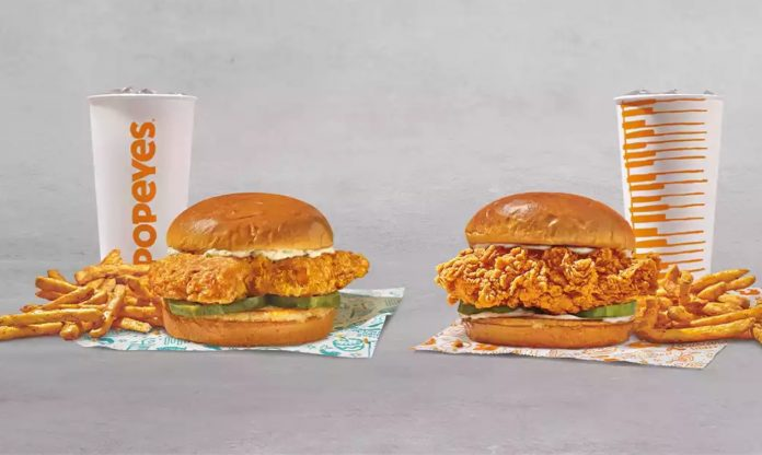 Popeyes Releases New Fish n' Chicks Sandwich Bundle For $14.99