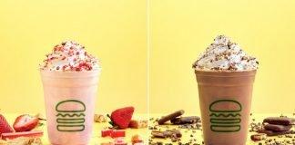 Shake Shack Spins New Strawberry Rhubarb Shake And New Chocolate Pudding Shake