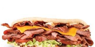 Arby's Brings Back Brisket Bacon Flatbread