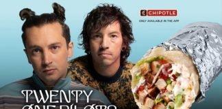Chipotle Launches New Twenty One Pilots Burrito