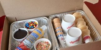 Friendly's Offers Make-Your-Own Sundae Kits