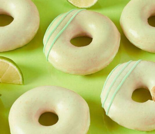 Krispy Kreme Brings Back Key Lime Glazed Donuts As Part Of Key Lime Fridays Promotion