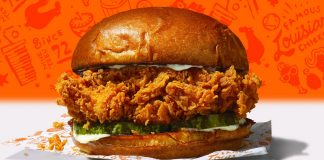 Popeyes And Grubhub Offer Free Chicken Sandwich Combo Every Friday Through July As Part Of New Free Sandwich Fridays Promotion