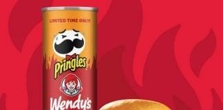 Pringles Reveals New Wendy's Spicy Chicken Sandwich Flavor