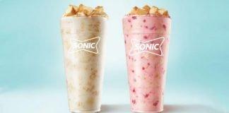 Sonic Unveils New Cheesecake Blast And New Strawberry Cheesecake Blast