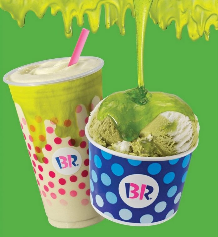 Baskin-Robbins Unveils New Sour Berry Lime Topping And New Summertime Lime As June 2021 Flavor Of The Month