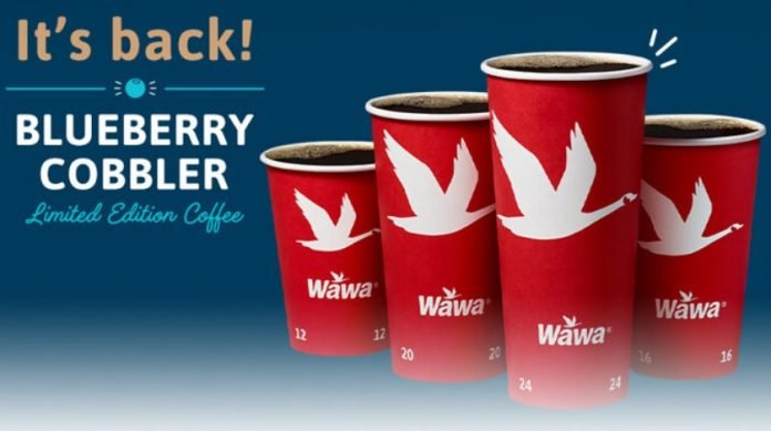 Blueberry Cobbler Coffee Is Back At Wawa For Summer 2021