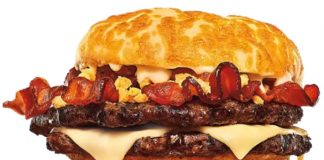 Burger King Offers New Cheesygoing King And New Cheesygoing Bacon Fries At Select Locations