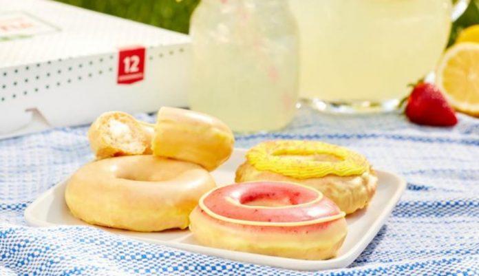 Krispy Kreme Welcomes New Lemonade Glaze Donut Collection