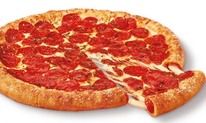 Little Caesars Introduces New Pepperoni And Cheese Stuffed Crust Pizza