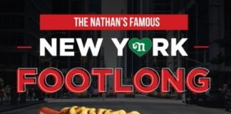 Nathan's Famous Releases Its First-Ever Natural Casing Footlong Hot Dog