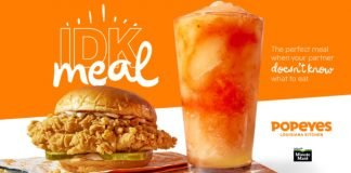 Popeyes Celebrates Nationwide Launch Of New Lemonade Drinks With New 'I Don't Know (IDK) Meal'