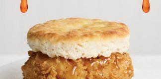 Roy Rogers Adds New Honey Maple Chicken Biscuit And High Noon Cold Brew To Breakfast Menu
