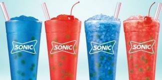 Sonic Introduces New Cherry Burst Slush As Part Of New Bursting Bubbles Drink Lineup