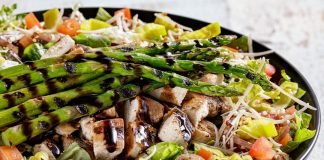 The Habit Tosses New Balsamic Grilled Chicken And Asparagus Salad, Brings Back Mocha Shake