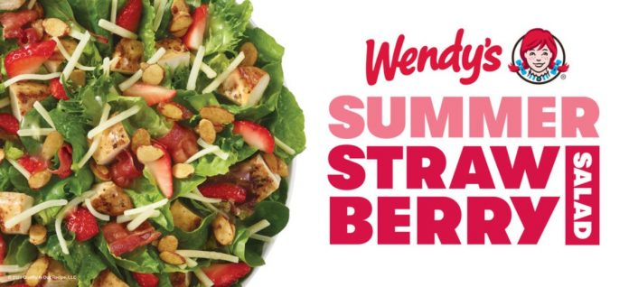 The Summer Strawberry Chicken Salad Is Back At Wendy's