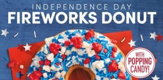 Tim Hortons Brings Back Independence Day Fireworks Donut, Adds New Birthday Cake Iced Capp And New Mocha Cold Brew