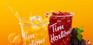 Tim Hortons Pours New Refreshers Made With Real Organic Fruit Juice