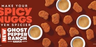 Wendy's Introduces New Ghost Pepper Ranch Sauce
