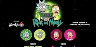 Wendy's Pours New Mello Yello BerryJerryboree And Mello Yello Portal Time Lemon Lime As Part Of Expanded Rick And Morty Partnership