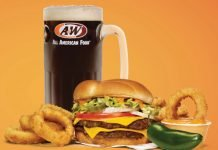 A&W Serves Up New Spicy Papa Burger Combo With Onion Rings Alongside New Root Beer Cream Freeze