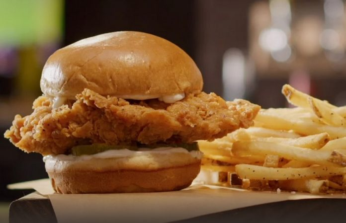 Buffalo Wild Wings Puts Together New Classic Chicken Sandwich