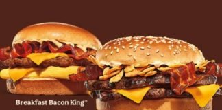 Burger King Announces Nationwide Launch Of New Garlic & Bacon King Sandwich And New Breakfast Bacon King Sandwich