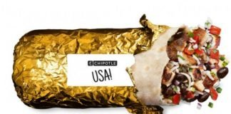 Chipotle To Offer Gold Foil-Wrapped Burritos Starting July 23, 2021