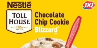 Dairy Queen Debuts New Nestlé Toll House Chocolate Chip Cookie Blizzard