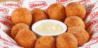 Denny's Offers Cinnamon Sugar Pancake Puppies For A Limited Time