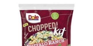 Dole Reveals New Chopped Buffalo Ranch And Chopped Peppercorn Ranch Salad Kits