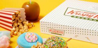 Krispy Kreme Welcomes New Carnival Doughnut Collection