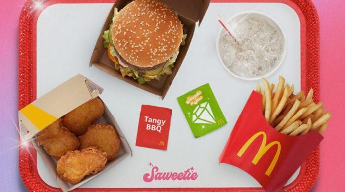 McDonald's Announces New Saweetie Meal