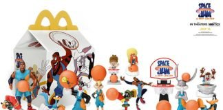 McDonald's Debuts New Space Jam A New Legacy Happy Meal