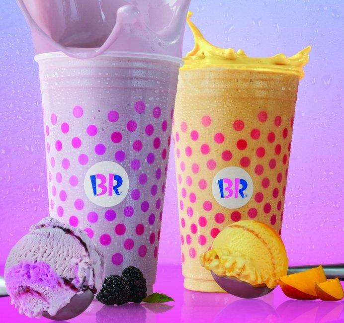 New Blackberry Hibiscus Iced Tea Freeze And Triple Mango Iced Tea Freeze Arrive At Baskin-Robbins