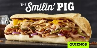 Quiznos Debuts New Smilin' Pig BBQ Sandwich And New Birthday Cake Donut Holes