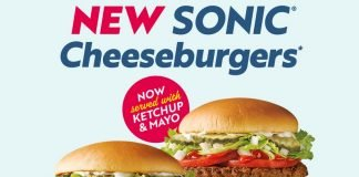 Sonic Unveils New And Improved Sonic Cheeseburger And SuperSONIC Double Cheeseburger