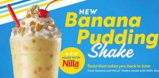 Sonic Unveils New Banana Pudding Shake