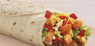 Taco Bell Debuts New Loaded Taco Fries Burrito And New Black Bean Loaded Taco Fries Burrito