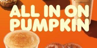 Dunkin' Unveils New Pumpkin Cream Cold And Brings Back Pumpkin Spice Signature Latte As Part Of 2021 Fall Menu