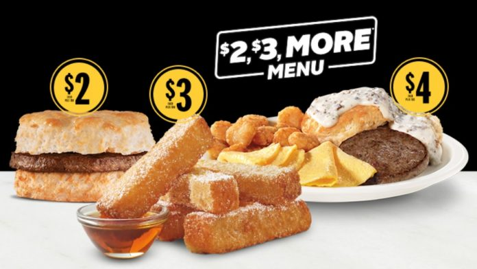 Hardee's Adds New French Toast Dips To $2, $3, More Breakfast Menu