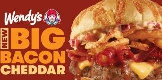 Wendy's Introduces New Big Bacon Cheddar Cheeseburger And Big Bacon Cheddar Chicken Sandwich