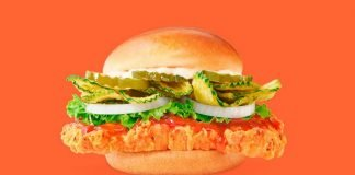 Wendy's Launches New Sweet Thai Chili Chicken Sandwich In Canada