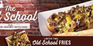 Charleys Philly Steaks New Old School Cheesesteak And Old School Gourmet Fries