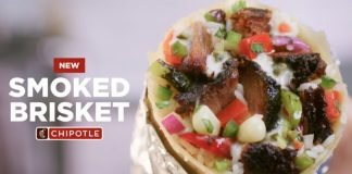 Chipotle Introduces New Smoked Brisket Nationwide